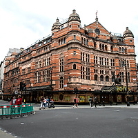 Harry Potter and the Cursed Child at Palace Theatre, Shaftesbury Avenue;<br />Theatres in lockdown;<br />West End Theatreland, London, UK;<br />7th July 2020.<br /><br />© Pete Jones<br />pete@pjproductions.co.uk