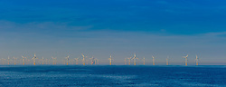 The Belwind Wind Farm located on Bligh Bank, 46 kilometres (29 miles) from the Belgian port of Zeebrugge in the North Sea.<br /> <br /> (c) Andrew Wilson | Edinburgh Elite media