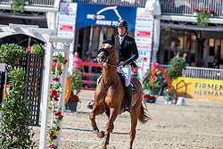 SOSATH Hendrik (GER), LADY LORDANA<br /> Münster - Turnier der Sieger 2019<br /> MARKTKAUF - CUP<br /> BEMER-Riders Tour - Qualifier for the rating competition (comp no 11)  - Stechen<br /> CSI4* - Int. Jumping competition with jump-off (1.50 m) - Large Tour<br /> 03. August 2019<br /> © www.sportfotos-lafrentz.de/Stefan Lafrentz