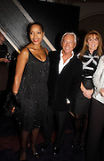 Grace Hightower DeNiro , Giorgio Armani and the Duchess of york, Sarah Ferguson at  Giorgio Armani, ' A retrospective' sponsored by Mercedes, Royal Academy, 14 October 2003. © Copyright Photograph by Dafydd Jones 66 Stockwell Park Rd. London SW9 0DA Tel 020 7733 0108 www.dafjones.com
