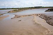 Mud flats and creeks low tide River Deben, Hemley, Suffolk