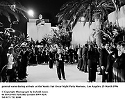 general scene during arrivals  at the Vanity Fair Oscar Night Party Mortons,  Los Angeles. 25 March 1996<br /><br />© Copyright Photograph by Dafydd Jones<br />66 Stockwell Park Rd. London SW9 0DA<br />Tel 0171 733 0108