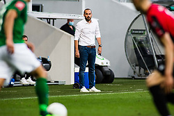 Dino Skender head coach of NK Olimpija Ljubljana during football match between NK Olimpija Ljubljana and Víkingur Reykjavík in First Round of UEFA Europa League Qualifications, on August 27, 2020 in Stadium Stozice, Ljubljana, Slovenia. Photo by Grega Valancic / Sportida
