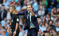 Football - Slaven Bilic manager of West Ham United during the match at the Etihad Stadium between Manchester City and West Ham United. <br /> <br /> 2016 / 2017 Premier League - Manchester City vs. West Ham United<br /> <br /> -- at The Etihad Stadium.<br /> <br /> COLORSPORT/LYNNE CAMERON