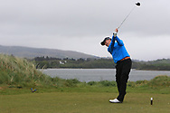 Dylan Keating (Seapoint) on the 6th tee during Round 3 of the Ulster Boys Championship at Donegal Golf Club, Murvagh, Donegal, Co Donegal on Friday 26th April 2019.<br /> Picture:  Thos Caffrey / www.golffile.ie