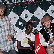 NLD/Amsterdam/20111007 - Presentatie Marc Ecko watches, Mr. Probs, Kleine Viezerik en Ben Saunders