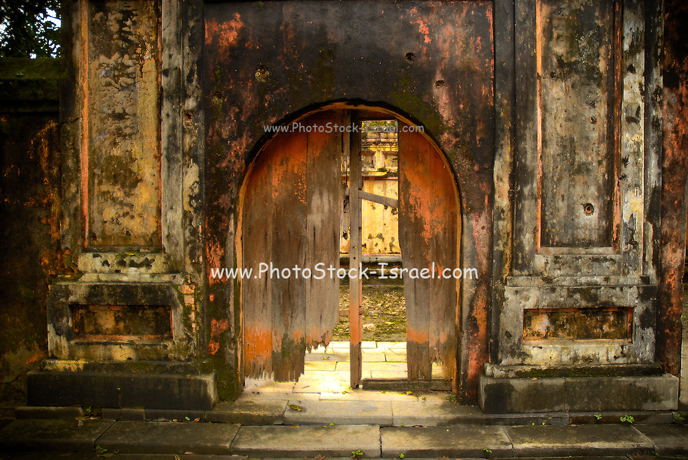 Dilapidated Entrance