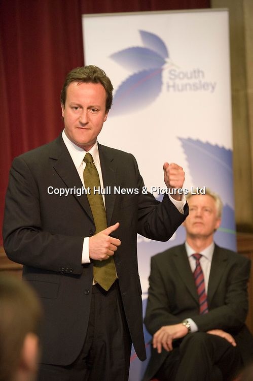 2 July 2008: Feature on the Haltemprice and Howden by-election to be held on July 10.<br /> David Cameron and David Davis chat with students at South Hunsley School.<br /> Attention: Ray Wells/see story - Rod Liddell<br /> Picture:Sean Spencer/Hull News & Pictures 01482 210267/07976 433960<br /> High resolution picture library at http://www.hullnews.co.uk<br /> ©Sean Spencer/Hull News & Pictures Ltd