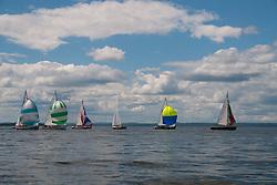 Castine Class Sailboat Race, Castine, Maine, US, July 4, 2017