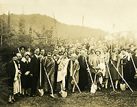 1926 Groundbreaking ceremony for a new Hollywood Bowl
