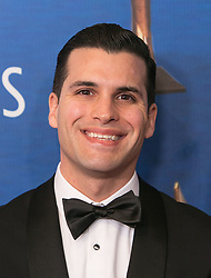 February 17, 2019 - Beverly Hills, California, U.S - Sean Brogan ''On-Air Promo'' in the red carpet of the 2019 Writers Guild Awards at the Beverly Hilton Hotel on Sunday February 17, 2019 in Beverly Hills, California. ARIANA RUIZ/PI (Credit Image: © Prensa Internacional via ZUMA Wire)