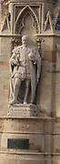 Detail Banbury Cross erected in 1859. Banbury. United Kingdom 2013