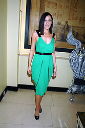 LINZIE STOPPARD at the 10th Anniversary Party of the Lavender Trust, Breast Cancer charity held at Claridge's, Brook Street, London on 1st May 2008.<br /><br />NON EXCLUSIVE - WORLD RIGHTS