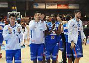DESCRIZIONE : Piacenza Campionato Lega Basket A2 2011-12 Morpho Basket Piacenza Enel Brindisi<br /> GIOCATORE : Esultanza Brindisi<br /> SQUADRA : Enel Brindisi<br /> EVENTO : Campionato Lega Basket A2 2011-2012<br /> GARA : Morpho Basket Piacenza Enel Brindisi<br /> DATA : 27/11/2011<br /> CATEGORIA : Esultanza<br /> SPORT : Pallacanestro<br /> AUTORE : Agenzia Ciamillo-Castoria/L.Lussoso<br /> Galleria : Lega Basket A2 2011-2012<br /> Fotonotizia : Piacenza Campionato Lega Basket A2 2011-12 Morpho Basket Piacenza Enel Brindisi<br /> Predefinita :