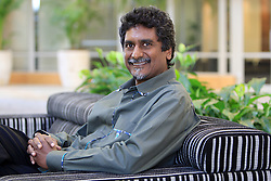 Jay   Naidoo , the founding general secretary of trade union federation Cosatu, at his office in Sandton. Pic: KATHERINE MUICK-MERE. 22/07/2010. © Sunday Times.