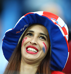 June 21, 2018 - Nizhny Novgorod, Russia - Group D Argentina v Croazia - FIFA World Cup Russia 2018.Croatia supporters at Nizhny Novgorod Stadium, Russia on June 21, 2018. (Credit Image: © Matteo Ciambelli/NurPhoto via ZUMA Press)