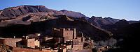 Maroc, Haut Atlas, Vallée du Dades, Gorges du Dades, Kasbah de Aït Youl // Aït Yul Kasbah, Dades gorge, Atlas, Morocco
