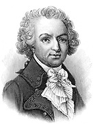 Louis Antoine de Bougainville (1729-1811) French soldier, navigator and mathematician. Elected a fellow of the Royal Society in 1756 while secretary to the French Embassy in London. Served with distinction as aide-de-camp to Montcalm in Nrth Amerca during the Seven Years War (1756-1763). Joined the French navy in 1763 and in 1764 colonised the Falkland Islands (Iles Malouines). In 1766-1769, accompanied by naturalists and other scientists, he led the first French circumnavigation of the globe. After the beginning of the French Revolution be devolted himself to science. The climber Bougainvillea is named for him, as is the largest of the Solomon  Islands.