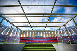 Entrada do gramado no Beira Rio em 31 de fevereiro de 2014. O Estádio Beira Rio, que receberá jogos da Copa do Mundo de Futebol 2014, tem mais 97% da sua reforma concluída e re-inauguração agendada para 04 de abril de 2014. FOTO: Jefferson Bernardes/ Agência Preview