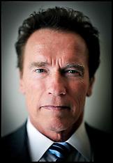 Portrait of the former Governor of California Arnold Schwarzenegger