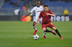 December 5, 2017 - Rome, Italy - Stephan El Shaarawy during the Champions League football match A.S. Roma vs  Qarabag at the Olympic Stadium in Rome, on december 05, 2017. (Credit Image: © Silvia Lore/NurPhoto via ZUMA Press)