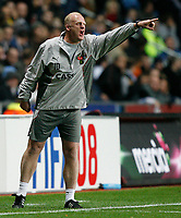 Photo: Steve Bond.<br />Coventry City v West Ham United. Carling Cup. 30/10/2007. Ian Dowie shouts instructions