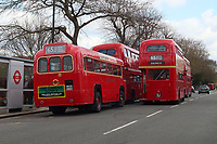 Route 65 Vintage London Bus Running Day, West London, UK, 11 April 2021, photo by Richard Goldschmidt