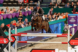 WERNKE Jan (GER), Nashville HR<br /> Leipzig - Partner Pferd 2020<br /> Longines FEI Jumping World Cup™Qualifikations-Prüfung<br /> Springprfg. nach Fehlern und Zeit, international<br /> 17. Januar 2020<br /> © www.sportfotos-lafrentz.de/Stefan Lafrentz