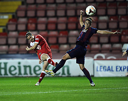 Bristol Academy Womens' Natalia Pablos Sanchon Shoots  - Photo mandatory by-line: Joe Meredith/JMP - Mobile: 07966 386802 - 13/11/2014 - SPORT - Football - Bristol - Ashton Gate - Bristol Academy Womens FC v FC Barcelona - Women's Champions League