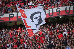 April 14, 2017 - Lisbon, Lisbon, Portugal - Benficas supporters during the Premier League 2016/17 match between SL Benfica v Maritimo M., at Luz Stadium in Lisbon on April 14, 2017. (Credit Image: © Dpi/NurPhoto via ZUMA Press)
