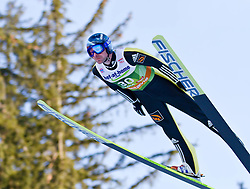 03.01.2012, Olympiaschanze/ Bergisel Stadion, AUT, 60. Vierschanzentournee, FIS Weltcup, Qualifikation, Ski Springen, im Bild Dimitry Vassiliev (RUS) // Dimitry Vassiliev of Russia during qualification at the 60th Four-Hills-Tournament of FIS World Cup Ski Jumping at Olympiaschanze / Bergisel Stadion, Austria on 2012/01/03. EXPA Pictures © 2012, PhotoCredit: EXPA/ P.Rinderer