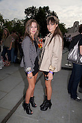 JESSICA LOCK; YASMIN GARDENER;, Open air screening of Knight and Day at the opening night of Film 4 Summer Screen 2010. Somerset House. London. 29 July 2010. -DO NOT ARCHIVE-© Copyright Photograph by Dafydd Jones. 248 Clapham Rd. London SW9 0PZ. Tel 0207 820 0771. www.dafjones.com.