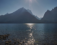 Late Afternoon at Jenny Lake. Image taken with a Nikon D200 camera and 18-75 mm kit lens (ISO 100, 18 mm, f/10, 1/400 sec).