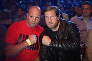 BOXEN: Middleweight, Felix Sturm - Predrag Radosevic, Dortmund, 06.07.2013<br /> Schauspieler Henning Baum (r.)<br /> ©Torsten Helmke
