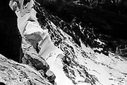 The Dent du Géant. Monte Bianco. Courmayeur, Italy