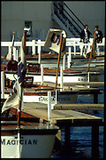 Peter Spurrier Sports  Photo<br />email pictures@rowingpics.com<br />Tel 44 (0) 7973 819 551<br />Photo Peter Spurrier<br />Henley Royal Regatta<br />Grand Challege final <br />Umpires boats'  moored