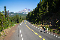 Cascade Lakes Highway in Central Oregon.