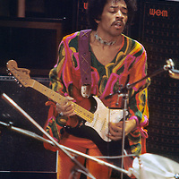 """Jimi Hendrix - Guitar Hero.- .Hendrix finally settled in to give the festival goers a real """"Experience"""". Despite a late appearance, earlier technical problems - and a small fire above him in the upper part of the stage - he went on to win over a cool but well worn audience.  His Sunday night performance was to be one of his last.  .On September 18th 1970, less than three weeks later, Jimi Hendrix was dead."""