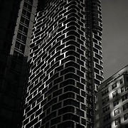 Cetra/Ruddy architects ARO building, a beautifully organic residential tower under construction at the former site of Roseland ballroom at 239 West 52nd street.