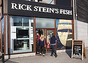 Rick Stein's Fish restaurant, famous TV chef, Falmouth, Cornwall, England, UK
