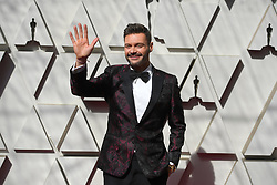 February 24, 2019 - Los Angeles, California, U.S - RYAN SEACREST, wearing his personal Ryan Seacrest Distinction Clothing, during red carpet arrivals for the 91st Academy Awards, presented by the Academy of Motion Picture Arts and Sciences (AMPAS), at the Dolby Theatre in Hollywood. (Credit Image: © Kevin Sullivan via ZUMA Wire)