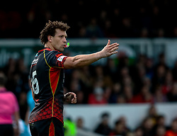 Zane Kirchner of Dragons<br /> <br /> Photographer Simon King/Replay Images<br /> <br /> Guinness PRO14 Round 12 - Dragons v Ospreys - Sunday 30th December 2018 - Rodney Parade - Newport<br /> <br /> World Copyright © Replay Images . All rights reserved. info@replayimages.co.uk - http://replayimages.co.uk
