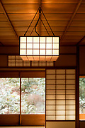 traditional Japanese garden teahouse