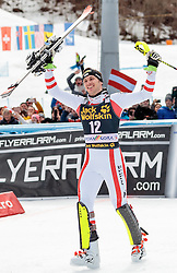 05.03.2017, Podkoren, Kranjska Gora, SLO, FIS Weltcup Ski Alpin, Kranjska Gora, Slalom, Herren, Siegerehrung, im Bild Michael Matt (AUT, 1. Platz) // race winner Michael Matt of Austria during the winner Ceremony for the men's Slalom of FIS Ski Alpine World Cup at the Podkoren in Kranjska Gora, Slovenia on 2017/03/05. EXPA Pictures © 2017, PhotoCredit: EXPA/ Johann Groder