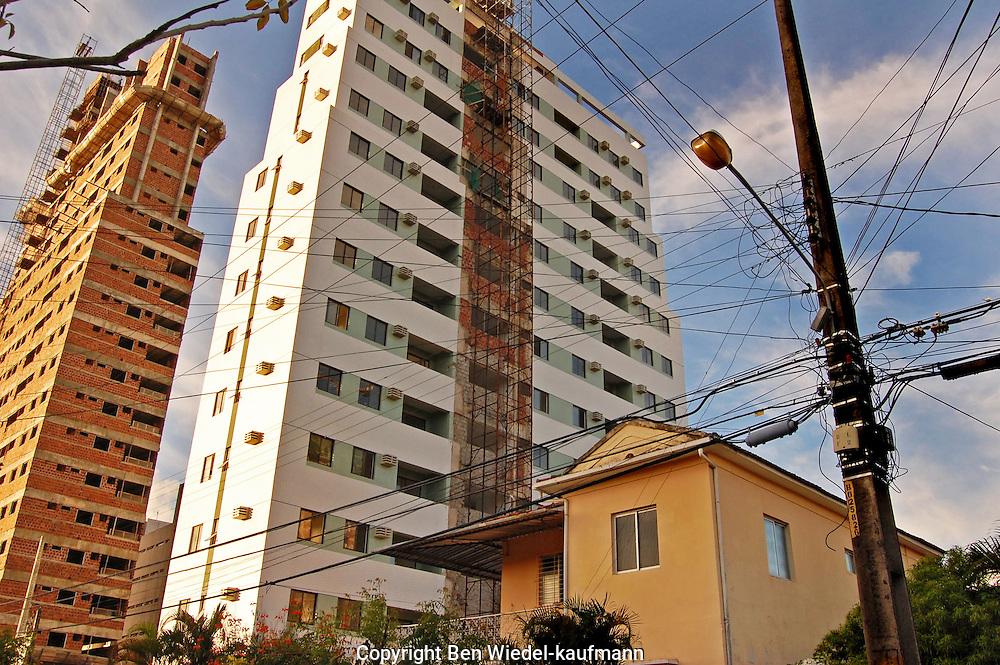 Highrise housing in Recife Brazil
