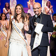 NLD/Hilversum/20131208 - Miss Nederland finale 2013,  Tatjana Maul wint de titel Miss Nederland World