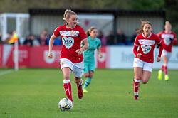Lucy Graham of Bristol City - Mandatory by-line: Paul Knight/JMP - 28/10/2018 - FOOTBALL - Stoke Gifford Stadium - Bristol, England - Bristol City Women v Arsenal Women - FA Women's Super League