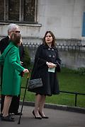 ALEXANDRA SHULMAN, Service of thanksgiving for  Lord Snowdon, St. Margaret's Westminster. London. 7 April 2017