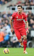 Dejan Lovren of Liverpool - Barclays Premier League - Newcastle Utd vs Liverpool - St James' Park Stadium - Newcastle Upon Tyne - England - 1st November 2014  - Picture Simon Bellis/Sportimage
