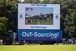 The Out-Sourcing Royal Windsor Cup final was the first polo matched to be signed for the death at the Guards Polo Club, Windsor Great Park, Egham, Surrey.